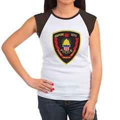 Pierre Police Women's Cap Sleeve T-Shirt
