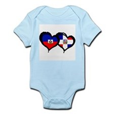 Haiti X Dominican Republic Infant Bodysuit