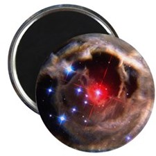 Light echoes from exploding star - Magnet