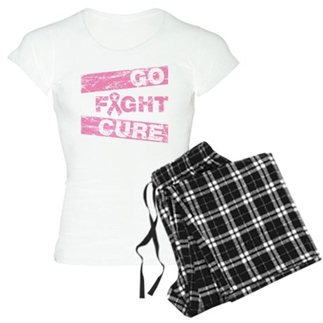 Breast Cancer Go Fight Cure Women's Light Pajamas