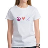 peace love field hockey-page1.jpg T-Shirt