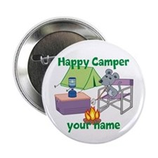 """Custom Happy Camper Mouse 2.25"""" Button (100 pack)"""
