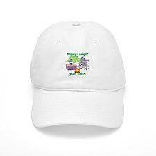 Custom Happy Camper Mouse Baseball Baseball Cap