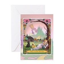 Cute Oz dream Greeting Card