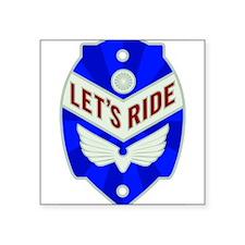 Let's ride Sticker