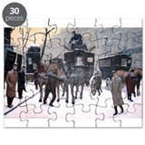 A Paris Morning Puzzle by artist Dave Rheaume