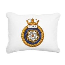 HMCS York Rectangular Canvas Pillow