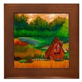 Country Framed Tile