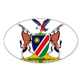 Namibia Coat of Arms Rectangle  Aufkleber