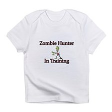 Zombie Hunter in training Infant T-Shirt