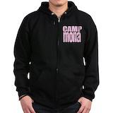 Camp mona Zip Hoodie (dark)