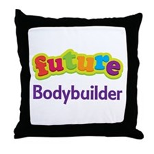 Future Bodybuilder Throw Pillow