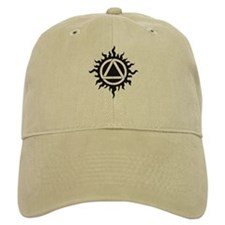 Celtic triad in flames Baseball Cap