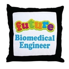 Future Biomedical Engineer Throw Pillow