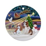 XMagic-2 BL Cavaliers Ornament (Round)