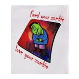 Love Your Zombie... Throw Blanket