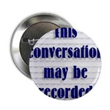 "Cute Recording 2.25"" Button (10 pack)"