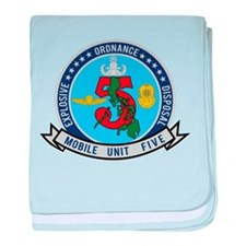 EOD Mobile Unit 5 baby blanket