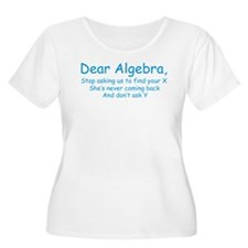 Dear Algebra Plus Size T-Shirt