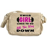Go All The Way Down Messenger Bag
