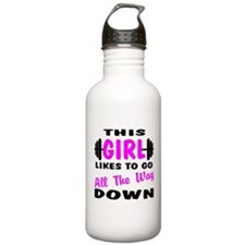 Go All The Way Down Water Bottle