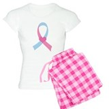 Infant Loss Pink and Blue Ribbon pajamas