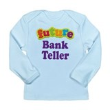 Future Bank Teller Long Sleeve Infant T-Shirt