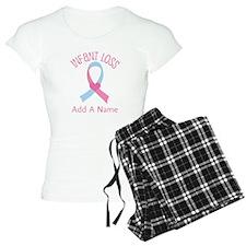 Personalized Infant Loss ribbon Pajamas