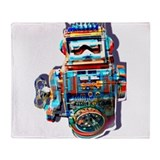 DrummerBot Throw Blanket