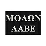 Come and Take It (Molon Labe Honeycomb) Rectangle