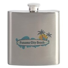Panama City Beach - Surf Designs. Flask
