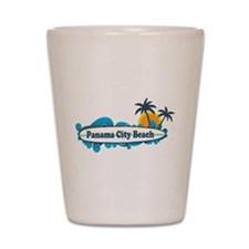 Panama City Beach - Surf Designs. Shot Glass