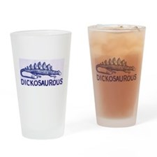 DICKOSAUROUS Drinking Glass