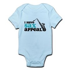 Sax Appeal Infant Bodysuit