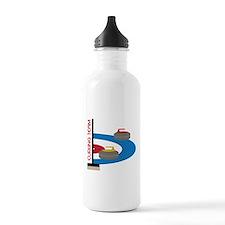 Curling Team Water Bottle