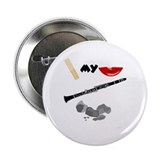 Reed My Lips Clarinet Rocks Button