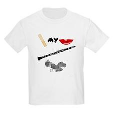 Reed My Lips Clarinet Rocks Kids T-Shirt
