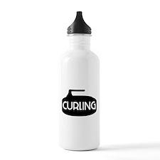 Curling Stone Water Bottle