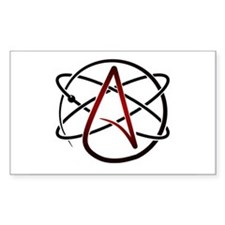 Modern Atheist Atomic Color Decal