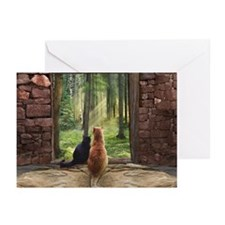 Doorway into Forever Greeting Cards (Pk of 10)
