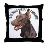 Proud Parent Throw Pillow