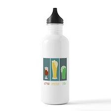 German - American - Irish Water Bottle