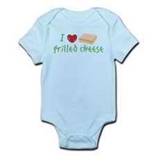 I Love Grilled Cheese Body Suit