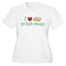 I Love Grilled Cheese Plus Size T-Shirt