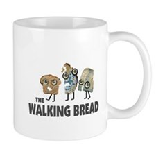 the walking bread Small Mug