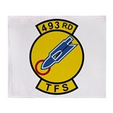 493rd TFS Throw Blanket