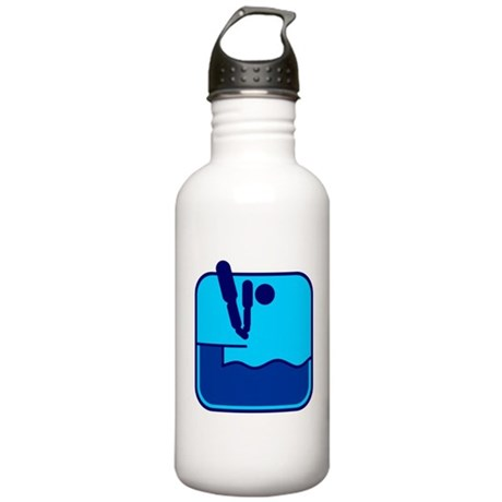 Turmspringen Water Bottle