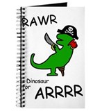 RAWR is Dinosaur for ARRR (Pirate Dinosaur) Journa