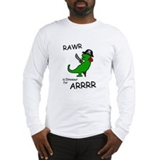 RAWR is Dinosaur for ARRR (Pirate Dinosaur) Long S