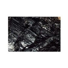Anthracite coal - Rectangle Magnet